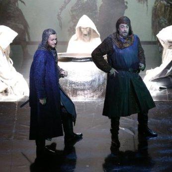 With Plácido Domingo as Macbeth
