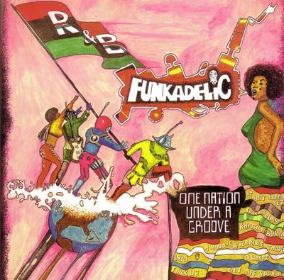 Funkadelic - One Nation Under A Groove - Front