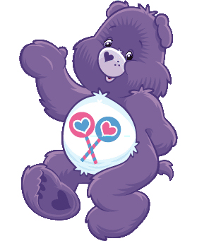 Share Bear sez: Let's get on the sharing train, people!