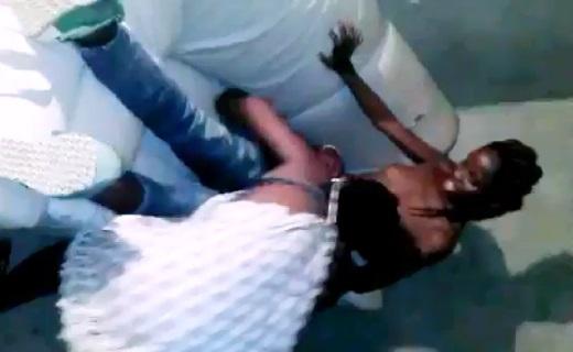 Leak Video Of Young Man Enjoying Happy Threesome