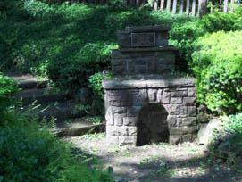 Akron Falls Fireplace