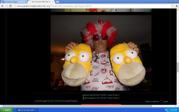 Lord Rick Rowe Evan Creepy Clown.2