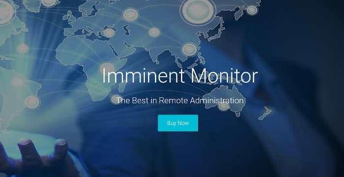 The Imminent Monitor Homepage Before the Seizure