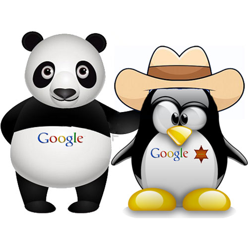 Google Pingvin i Panda