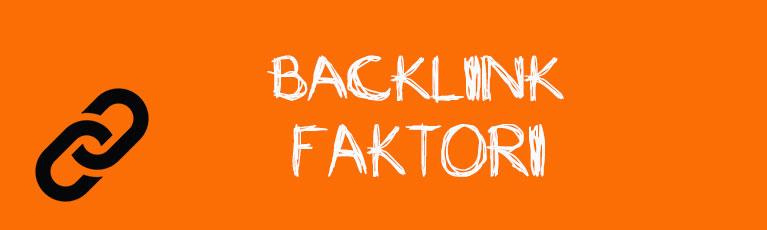 Backlink faktori
