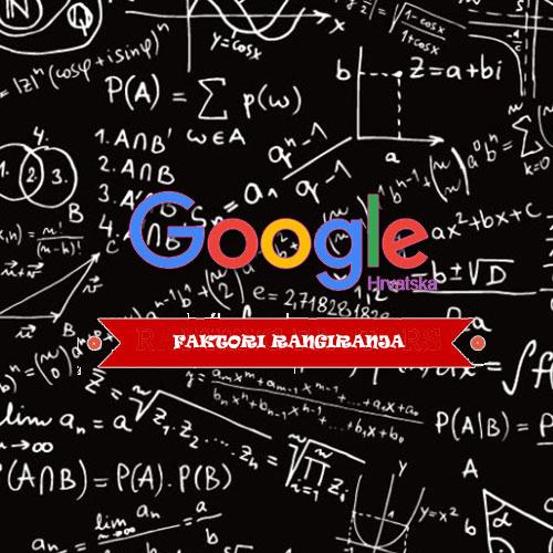 Google faktori rangiranja