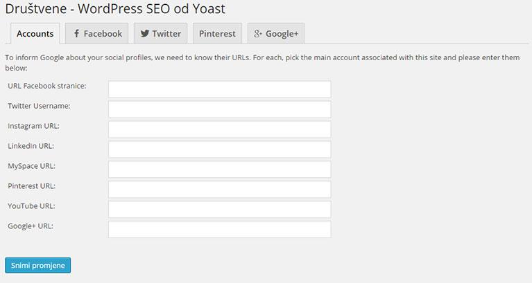 Društvene mreže YOAST