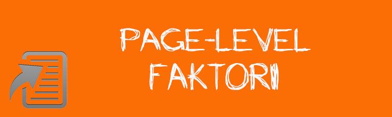 Page-level Faktori