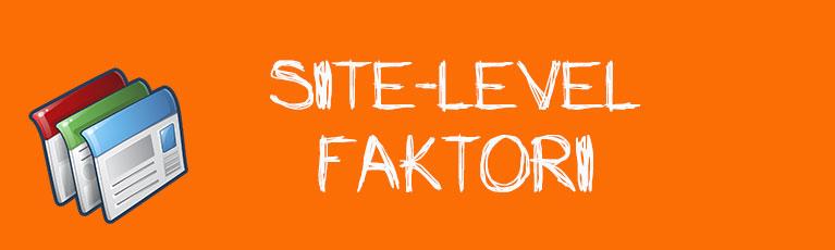 Site-Level Faktori