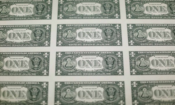 The money factory: How a U.S. one dollar bill is printed