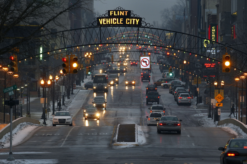Image result for downtown flint,michigan