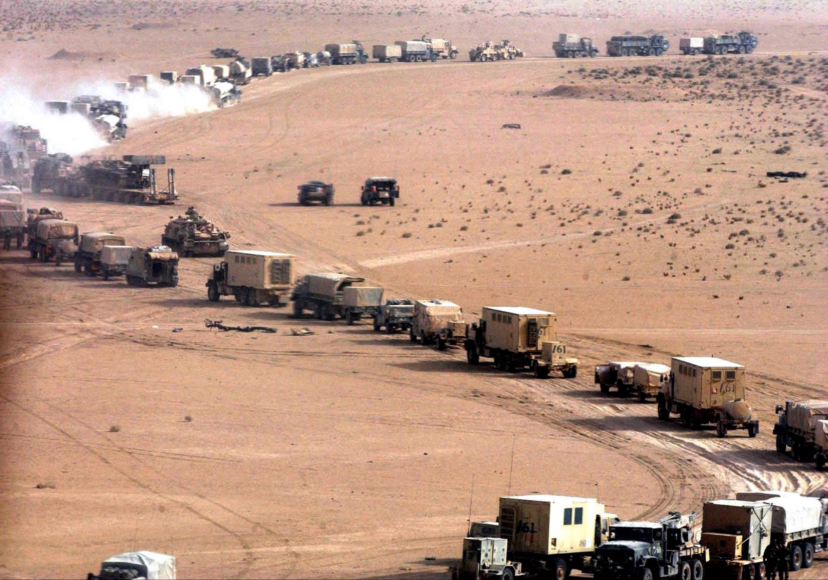 Us Military Convoy