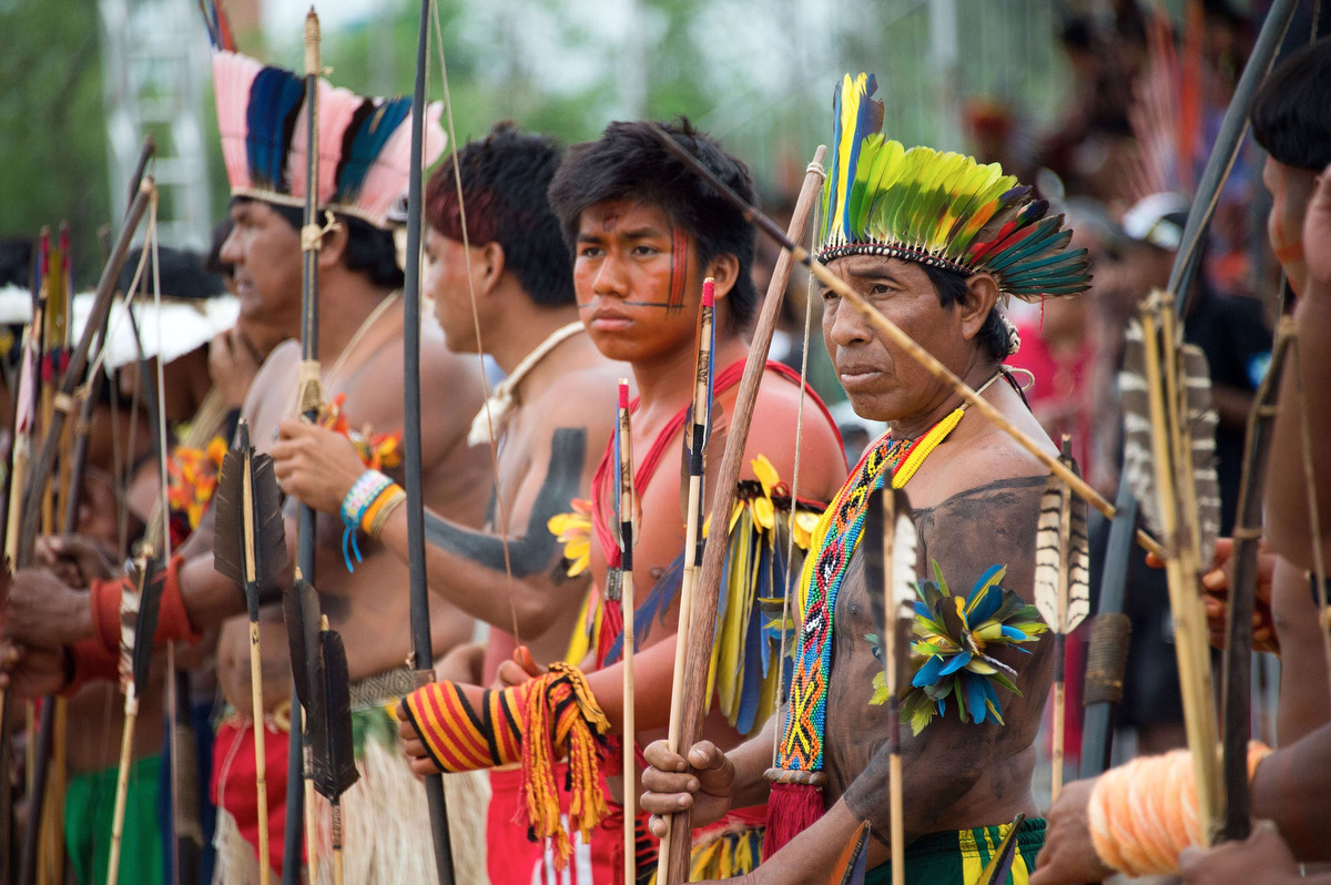 Image result for Brazilian indigenous people, photos