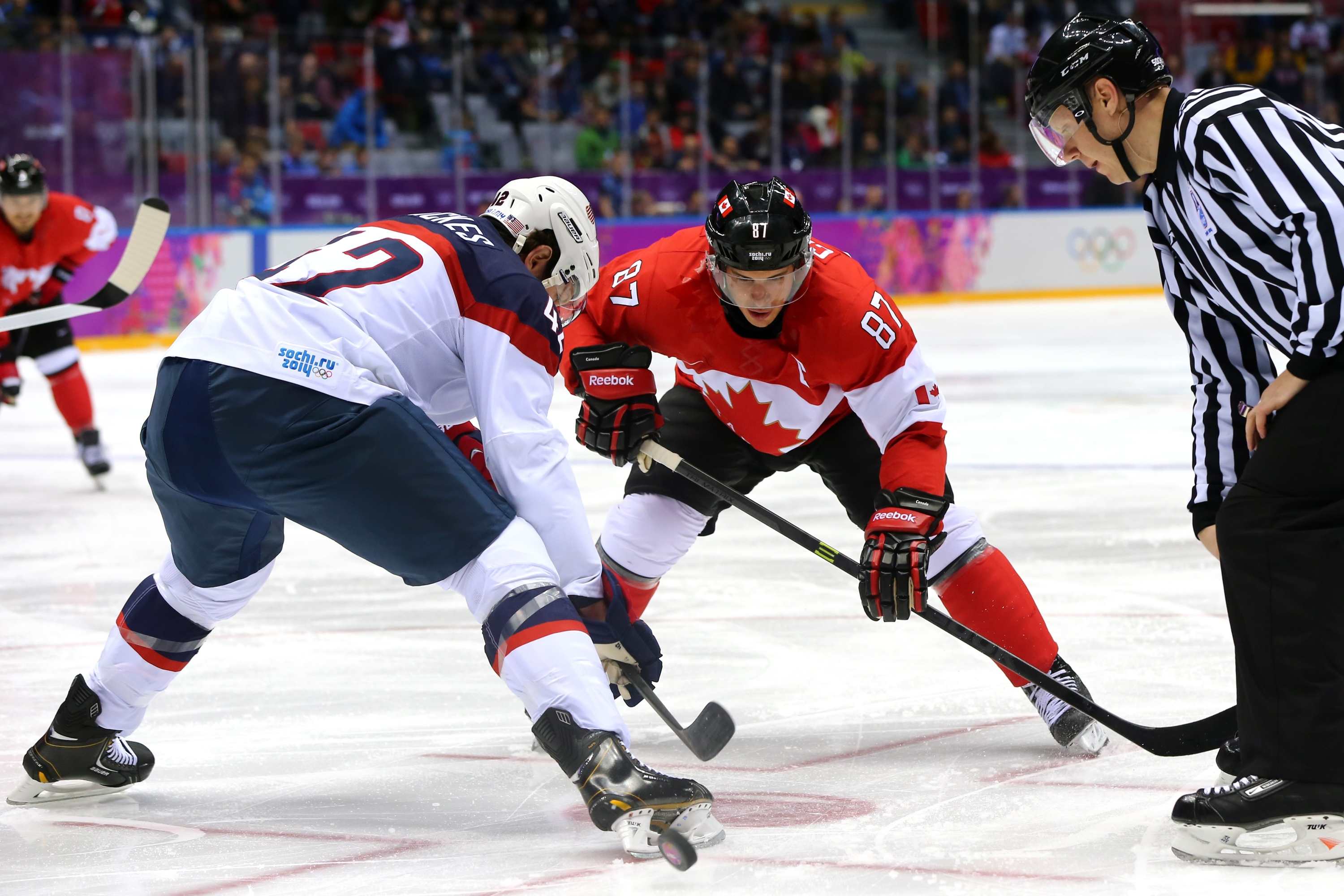 Ice Hockey Winter Olympics Day 14 United States V Canada