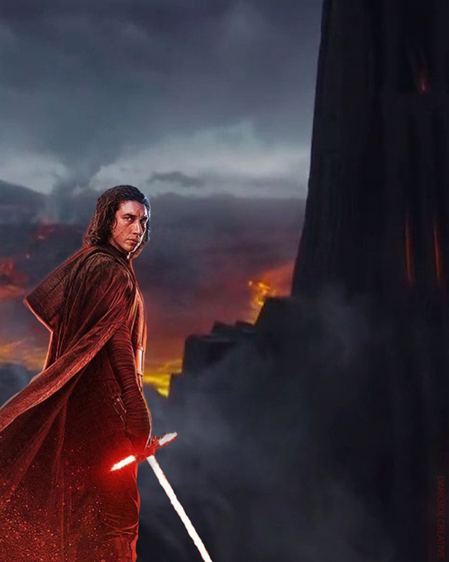 Kylo Ren and Vader's Castle