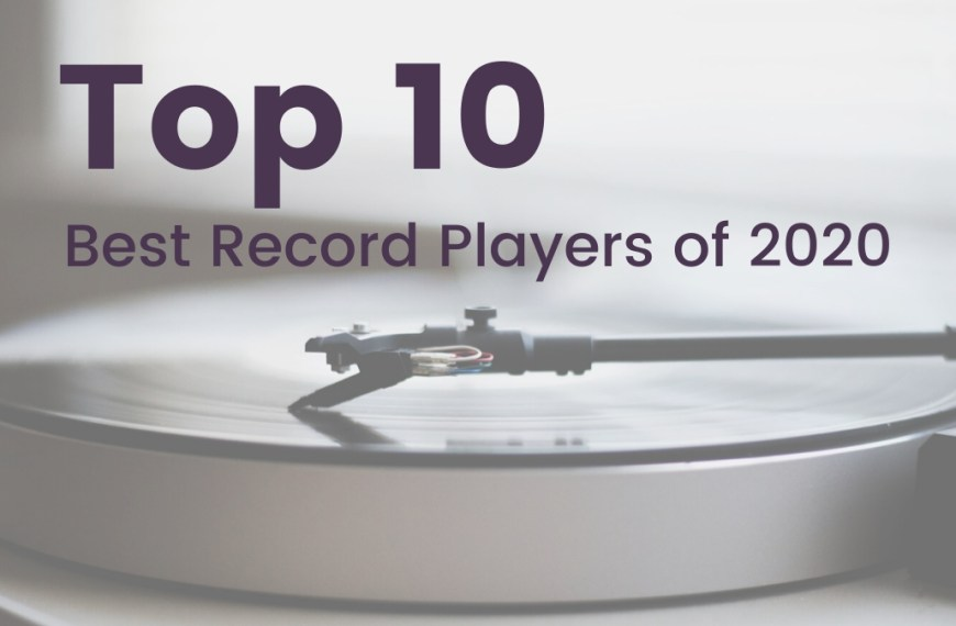 Top 10 | Best Record Players of 2021