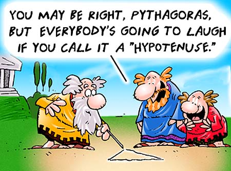 Manipulation in dates made the Pythagoras Theorem a Greek miracle!