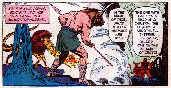 The Seven Comics of Sinbad
