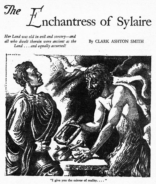 SWORD /& FANTASY #5 Howard Clark Ashton Smith pulp fanzine Robert E