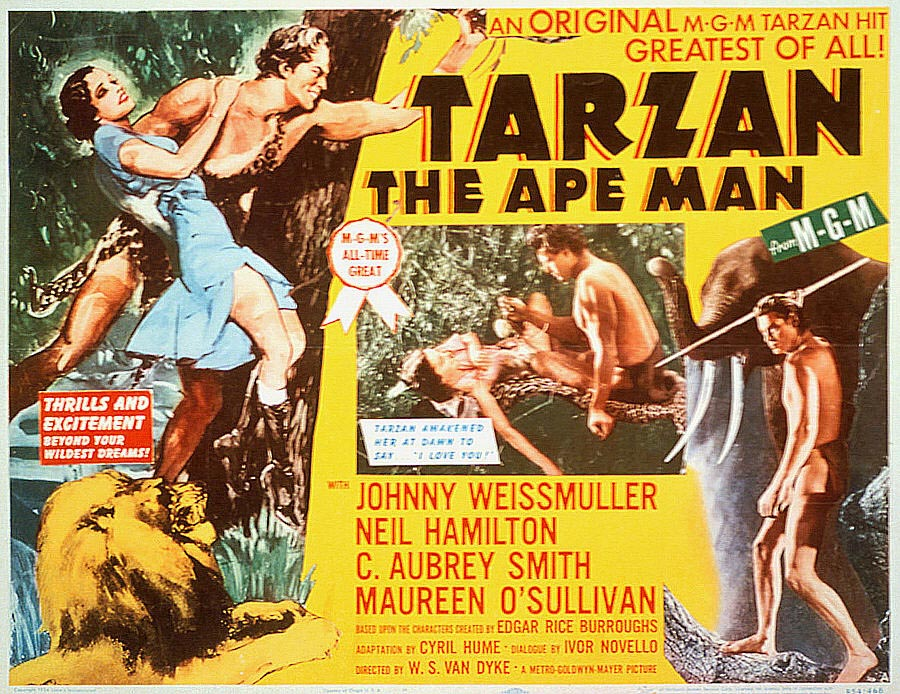 First Images of Tarzan: Pre-1918
