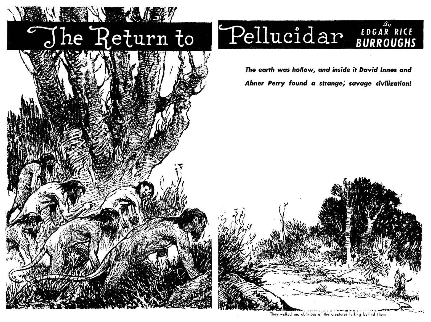 The Beasts of Pellucidar: Comic Book Style