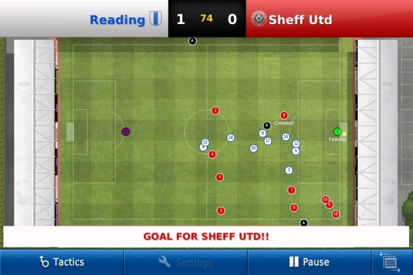Football Manager Handheld screen 2