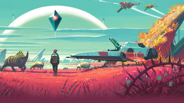 no mans' sky artwork