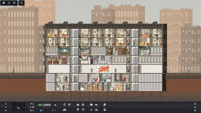 An established building in Project Highrise