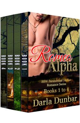 Romeo Alpha BBW Paranormal Shifter Romance Series – Books 1 to 4