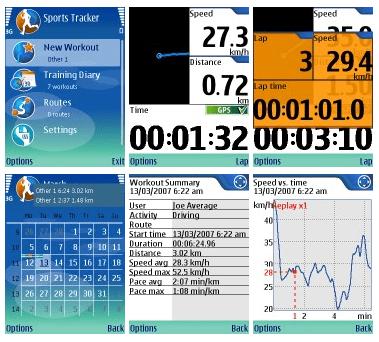 Nokia Sports-Tracker