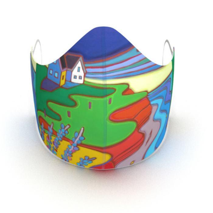 Darlene Kulig - Beach Walk Face Mask