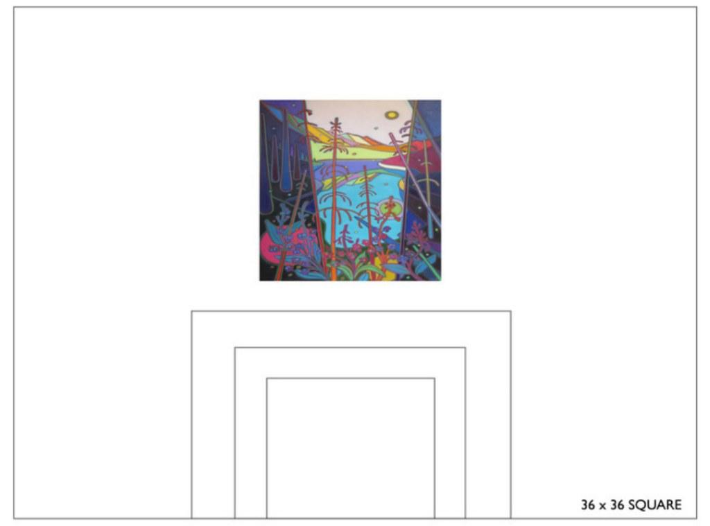 Select Canvas Size 36x36 - Commissions - Darlene Kulig