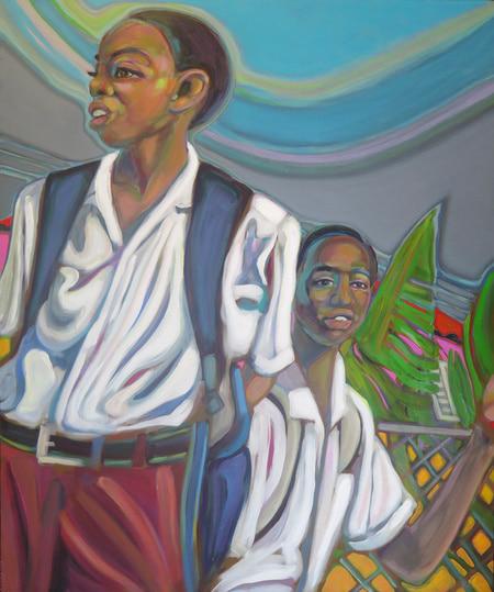 Barbados - Walk Home from School Saint George Barbados - Darlene Kulig