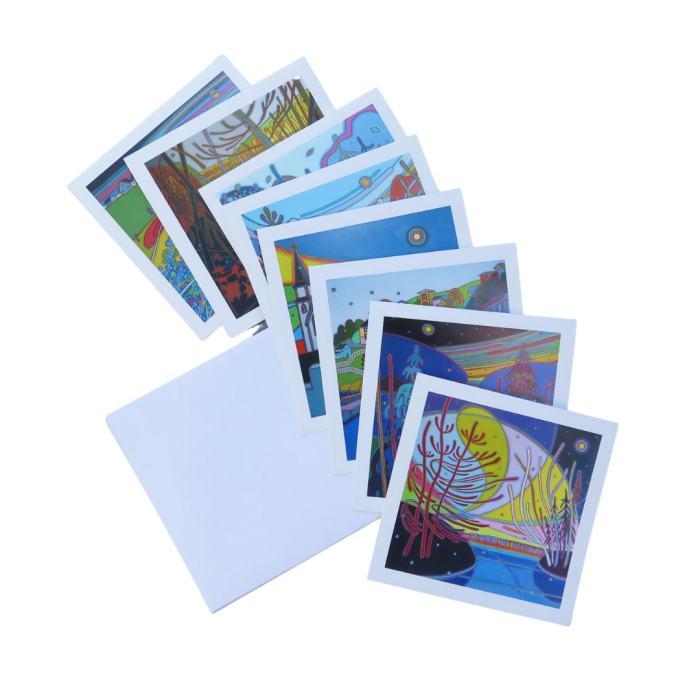 Canadian Landscapes Square Notecards - Darlene Kulig