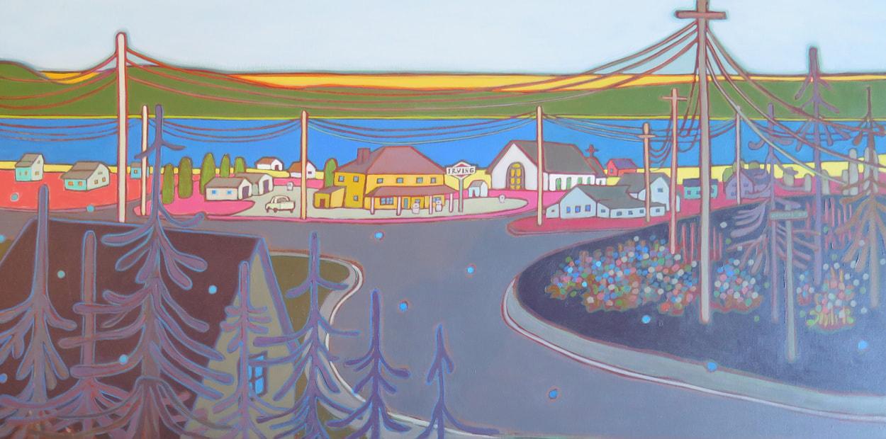 Newfoundland - Irish Loop Drive, Newfoundland 36 x 24 - Darlene Kulig