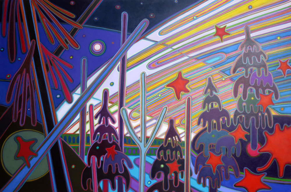 Northern Lights - Pursuance Dawn Awakens 40 x 60 - Darlene Kulig