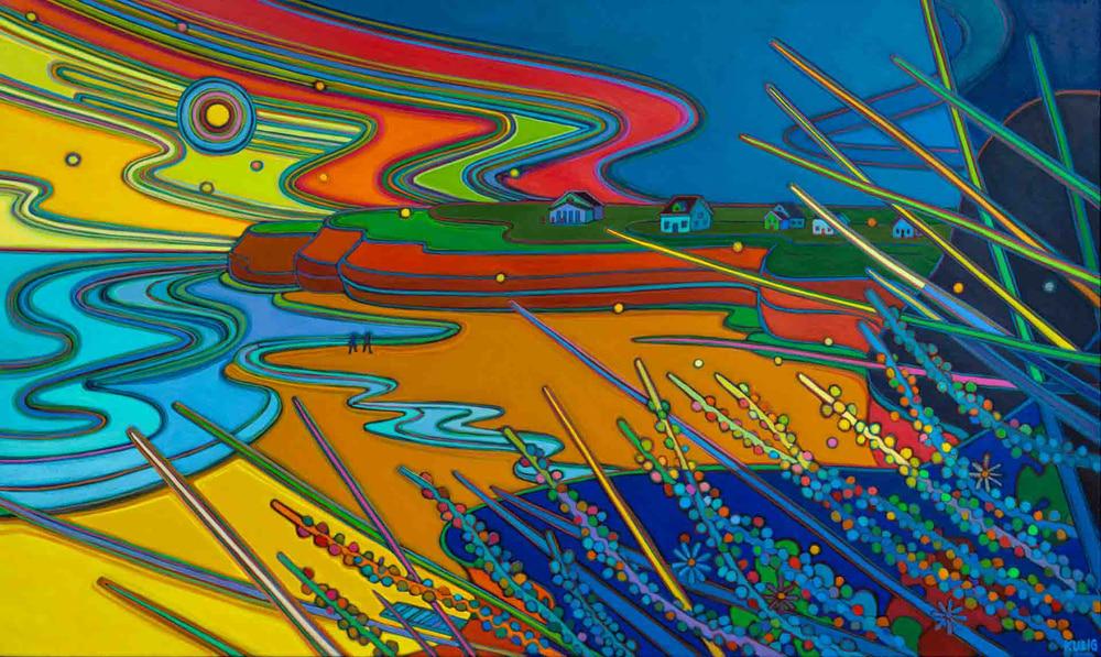 Prince Edward Island - Bach Walk Sunset Bay - Darlene Kulig