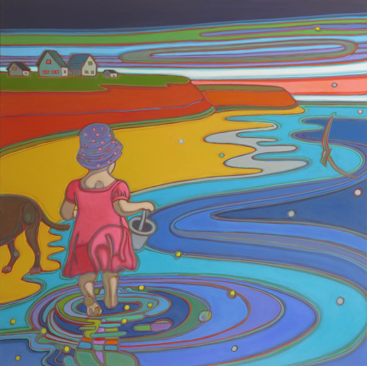 Prince Edward Island -Bucket List 36 x 36 - Darlene Kulig