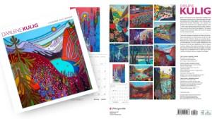 My 2022 Wall Calendars are here - Blog feature - Darlene Kulig