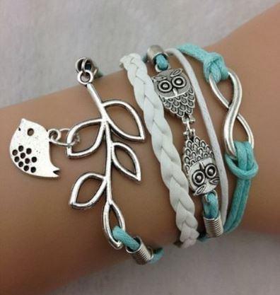 owl-infinity-bracelet