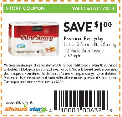 Coupon toilet paper canada