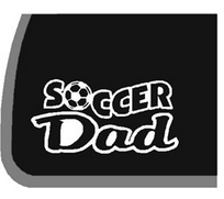 decal soccer dad