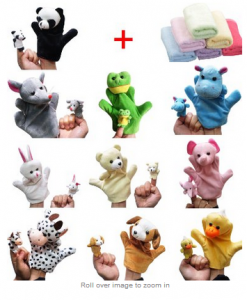 finger puppets animal 20