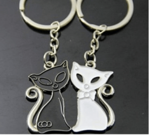 key chain cats