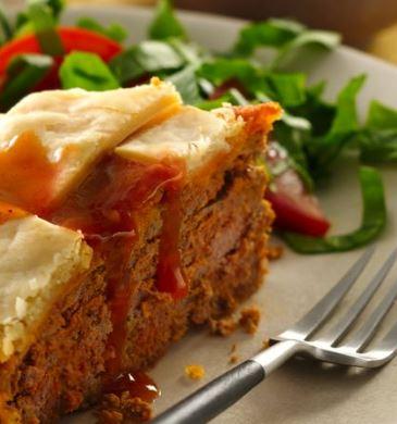 enchilada meatloaf pie recipe darlene michaud