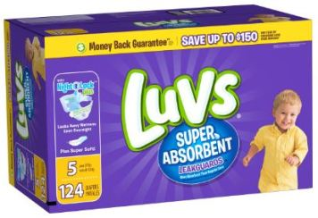 luvs diapers coupon deal walmart darlene michaud