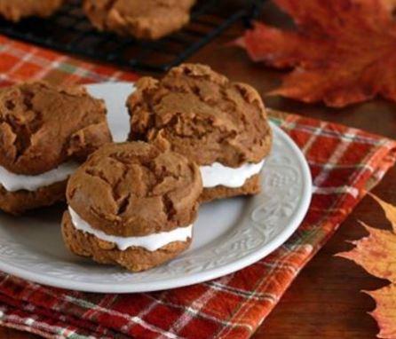 3 ingredient sweet potato whoopie pies recipe darlene michaud