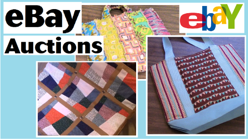 ebay auctions totes quilt