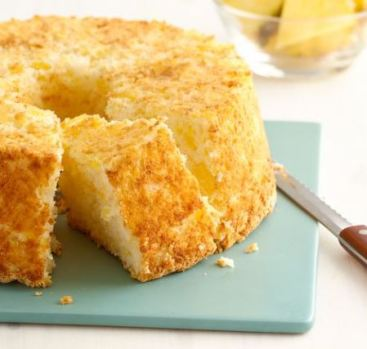 2 ingredient pineapple angel food cake recipe betty crocker darlene michaud