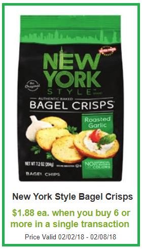 new york bagel chips coupon deal darlene michaud